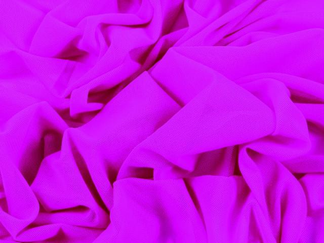 Fine stretch net Electric pink