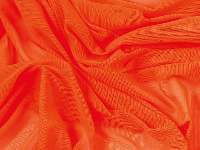 Fine stretch net Orange