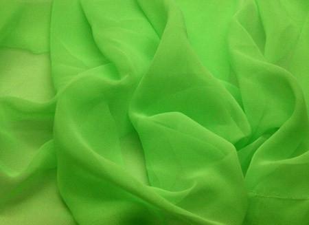 Georgette Fluorescent Grøn