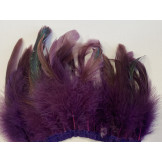 Coque oil feather fringe