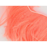 Ostrich feather fringe Salmon