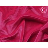 Smooth velvet Cherry red