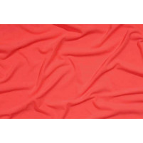 Crepe Flame red