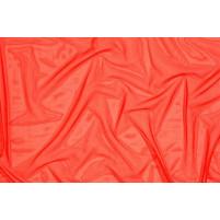 Fine stretch net Flame red