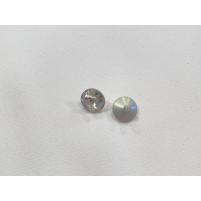 Knap med metalskaft crystal