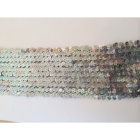 paillet bånd i zig zag mønster