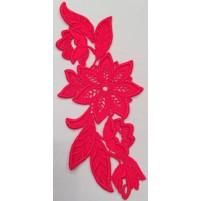 Madonna Motif fluorescent red