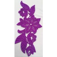 Madonna Motif Purple