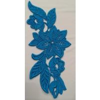 Madonna Motif Turquoise