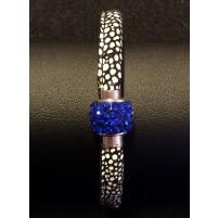 Armbånd med magnetlås cobalt