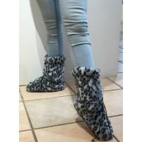 Warm up boots grå