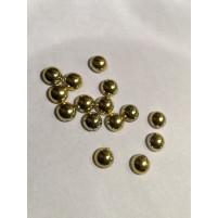 Halvperler guld 8mm