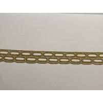 Chain lace ribbon