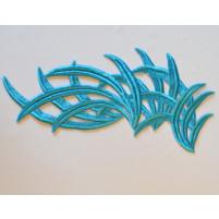 Bamboo motif Turquoise