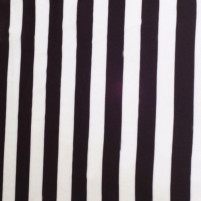 Black white striped lycra