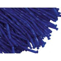Bugle bead dropper bunch Cobalt