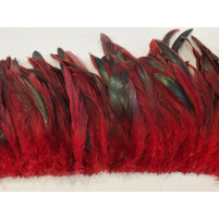Coque oil feather fringe