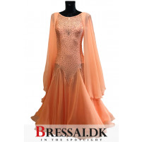 Coral twist standard kjole