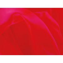 Crystal organza Fluorescent rød