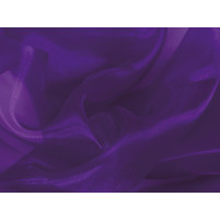 Crystal organza Purple rain