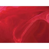 Crystal organza Rød