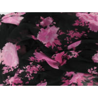 Scattered flowers devoire print Pink