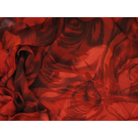 Floral swirl devoire print
