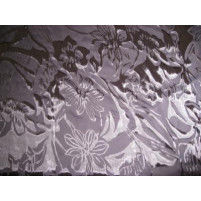 Bold floral burnout devoire print