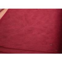 Burgundy dress net
