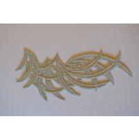 Bamboo motif Silver