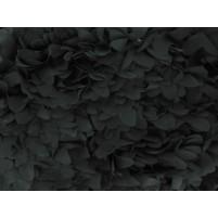 Loose leaf pieces on net Black