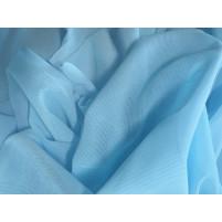 Fine stretch net ice blue