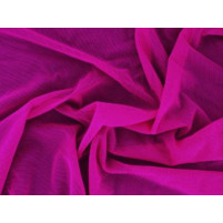 Fine stretch net Fuchsia pink