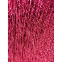 Fuchsia metallisk fryns