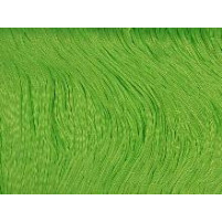 Stretch fringe Electric green