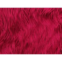 Stretch fringe Fuchsia pink