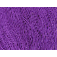 Stretch fringe Hot magenta