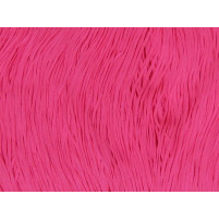 Stretch fringe Pink fizz