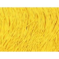 Stretch fringe Sassy yellow