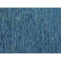 Electric blå iriserende stræk fryns