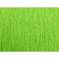 Fluorescent grøn iriserende stræk fryns