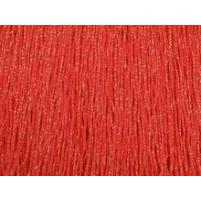 Fluorescent rød iriserende stræk fryns