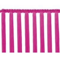Stretch tassel fringem Pink fizz