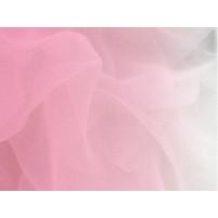 Shading georgette Sugar pink