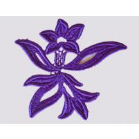Georgina ribbon Purple rain