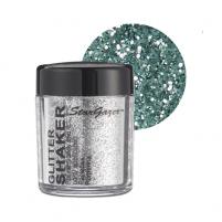 glitter shaker silver