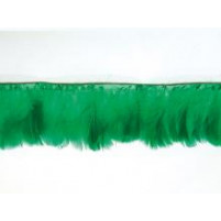 Goose feather fringe Green