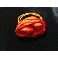 Rosen knop Orange