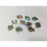 Cosmic sew on Crystal AB 18 mm