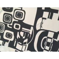 Hvid og sort mønster
